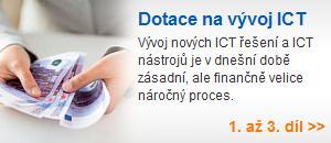 Dotace navývoj ICT