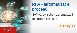 RPA – automatizace procesů