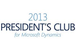2013 President's Club for Microsoft Dynamics